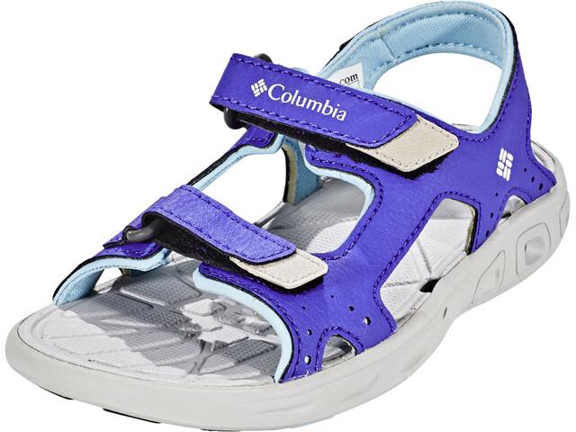 Columbia Techsun Vent Zapatillas Niños, purple lotus, sky blue